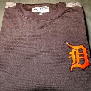 Majestic Authentic Detroit Tigers on-field sweater